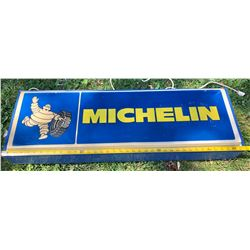 MICHELIN ELECTRIC HANGING SIGN - ACRYLIC
