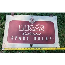 LUCAS BULBS DST SIGN
