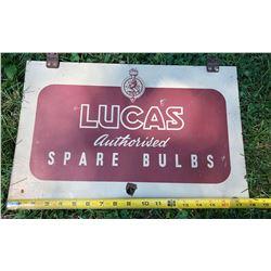 LUCAS BULBS DST SIGN