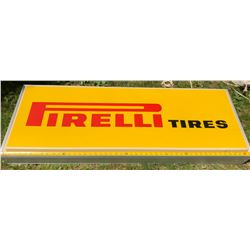FIRELLI ELECTRIC HANGING SIGN - ACRYLIC