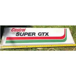CASTROL ELECTRIC HANGING SIGN - ACRYLIC