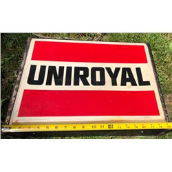 UNIROYAL ELECTRIC HANGING SIGN