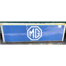 MG ACRYLIC SIGN