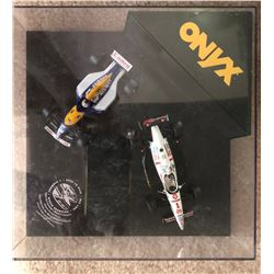 ONYX DIE-CAST TOY CARS IN DISPLAY CASE
