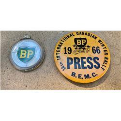 2 X BP PINS
