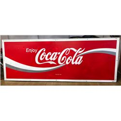1993 COCA-COLA SST SIGN - ON FRAME