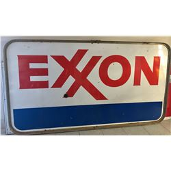 EXXON DSP SIGN - ON FRAME