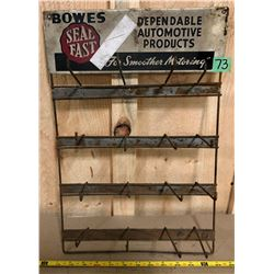 BOWES SEAL FAST WIRE DISPLAY RACK