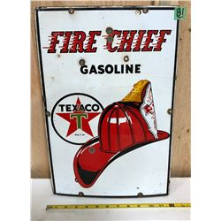 TEXACO FIRE CHIEF SSP SIGN