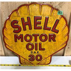 SHELL MOTOR OIL SST SIGN - REPRO