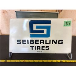 1964 SEIBERLING TIN TIRE STAND