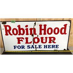 "ROBIN HOOD FLOUR SSP SIGN - 13"" X 28"""