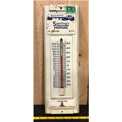SPARLING'S PROPANE THERMOMETER - BLYTH