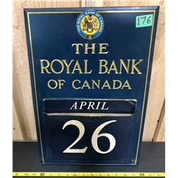 ROYAL BANK OF CANADA CALENDAR - COMPLETE