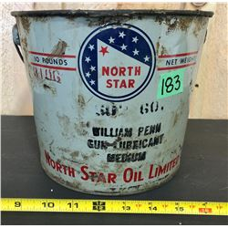 NORTH STAR 10 LB GREASE PAIL
