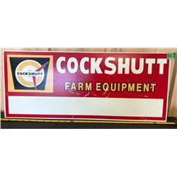 COCKSHUTT MASONITE SIGN