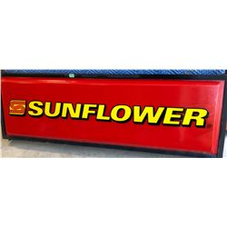 SUNFLOWER FARM EQUIP ILLUMINATING FIBERGLASS SIGN