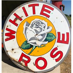 WHITE ROSE 6' DSP SIGN