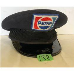 PEPSI DELIVERY MANS HAT - SZ 7 1/8