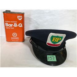 BP HAT & BBQ FUEL TIN