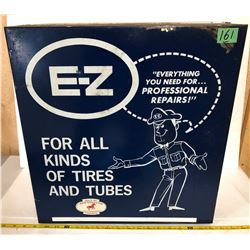 E-Z TIRE TUBE REPAIR CABINET