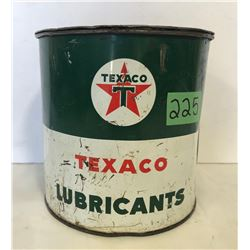 TEXACO 5 LBS GREASE TIN