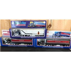 3 X DIE CAST TOY DELIVERY TRUCKS - EATONS