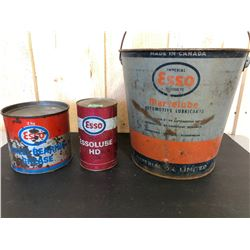ESSO 2 KG WHEEL GREASE - FULL, ESSOLUBE, OIL PAIL