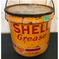 SHELL 25 LB GREASE PAIL