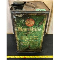 IMPERIAL MARVELUBE SQUARE 1 GAL TIN WITH SPOUT