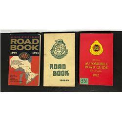 GR OF 3, ROAD BOOKS