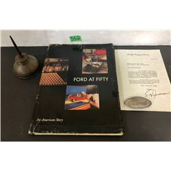 GR OF 3 FORD MEMORABILIA ITEMS