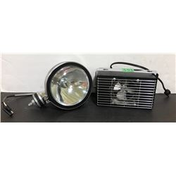 CHROME SPOTLIGHT - AS NEW & INTERIOR CAR HEATER