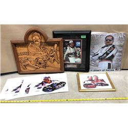 GR OF 5 EARNHARDT MEMORABILIA ITEMS
