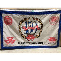 "MASSEY FERGUSON 150 ANNIVERSARY FLAG - 38"" X 59"""