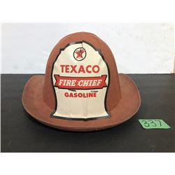 TEXACO FIRE CHIEF CHILDRENS HAT - INGERSOLL