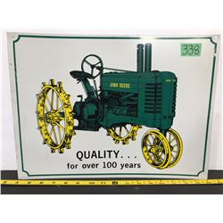 JOHN DEERE TIN SIGN