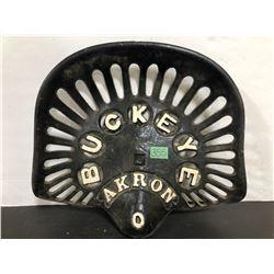 NO 0 BUCKEYE CAST SEAT - AKRON