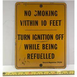 NO SMOKING SST SIGN - 1966