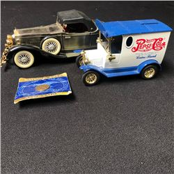 COLLECTIBLE TOY VEHICLE LOT
