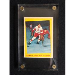 1965 TOPPS NO.48 GORDIE HOWE HOCKEY CARD