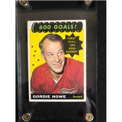 1965 TOPPS NO.122 GORDIE HOWE HOCKEY CARD