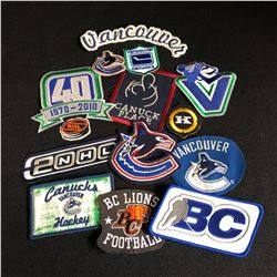 NHL PATCHES LOT