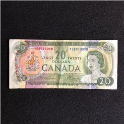 1969 CANADA $20 BANK NOTE