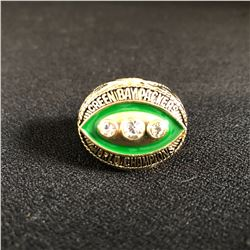 GREEN BAY PACKERS (Bart Starr) 1965 SUPER BOWL WORLD CHAMPIONS Replica Gold NFL Championship Ring