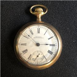 GRASSIE  VANCOUVER BC  MOVEMENT BY AMERICAN WATCH Co POCKET WATCH