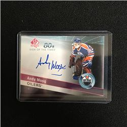 2019-20 SP Authentic Sign of the Times 80s #ST80AM Andy Moog Auto