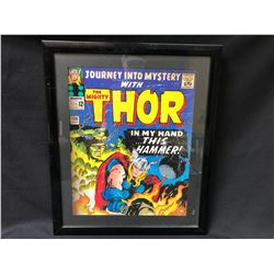 FRAMED THOR COMIC BOOK POSTER (18 X 24)