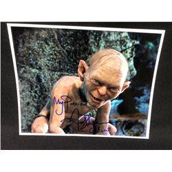 Andy Serkis Signed 8x10 Gollum Photo
