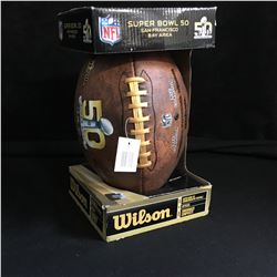 NFL SUPER BOWL 50 BAY AREA WILSON FOOTBALL (NIB)